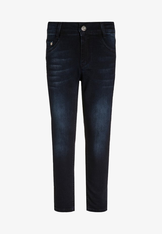 Jeansy Skinny Fit - blue black