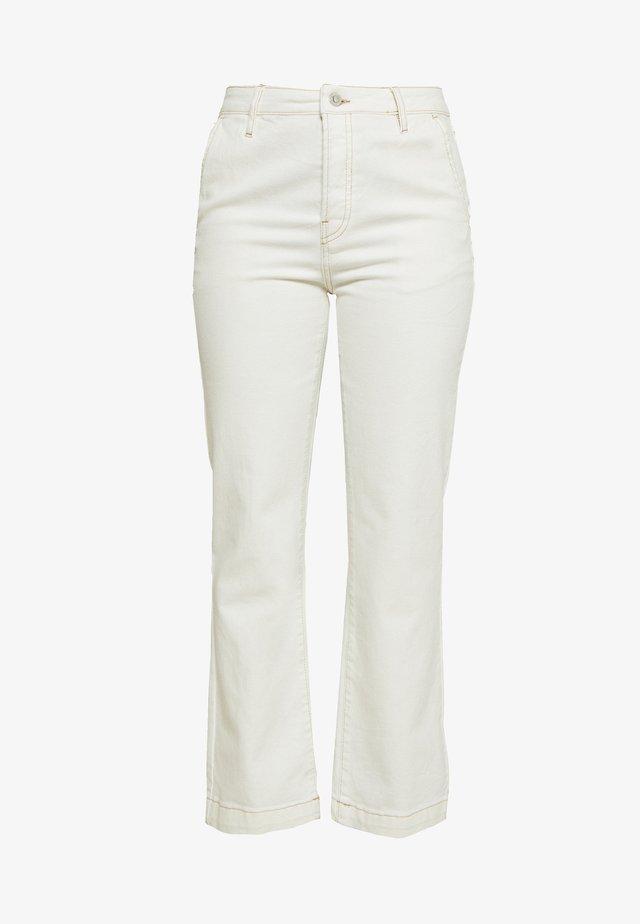 Jeans baggy - ecru