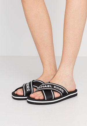 SPARROW SLIDE - Sandaler - black