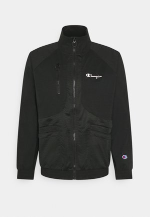FULL ZIP - Summer jacket - black