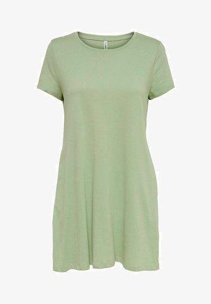 Jersey dress - desert sage 1