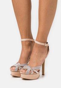 ALDO - LACLABLING - Sandaler med høye hæler - bone - 0