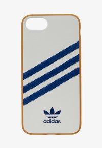 adidas Originals - MOULDED CASE FOR IPHONE - Telefoonhoesje - white/collegiate navy - 1