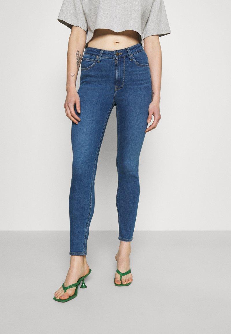 Lee - SCARLETT HIGH - Jeans Skinny - mid madison