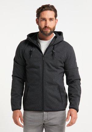 Outdoor jakke - dunkelgrau melange