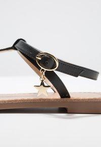 Even&Odd - T-bar sandals - black - 2