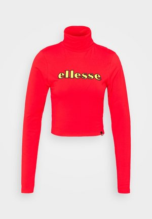 VORAN - Long sleeved top - red