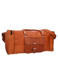 Gusti Leder - Weekend bag - brown - 5