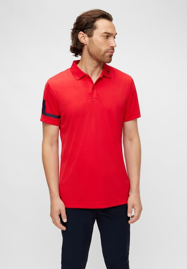 Sports shirt - red bell