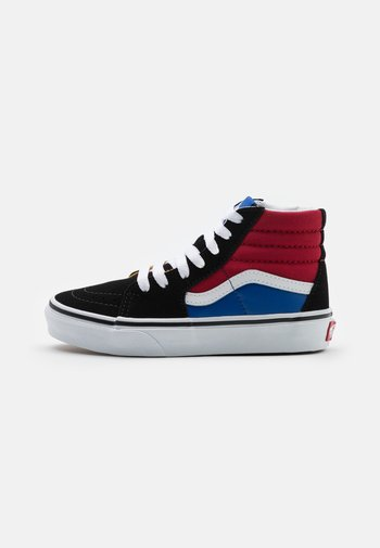 SK8 UNISEX - High-top trainers - black/chili pepper