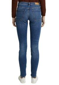 Esprit - FASHION  - Slim fit jeans - blue medium washed - 6