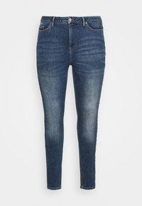 VMLORA  - Jeans Skinny Fit - medium blue denim