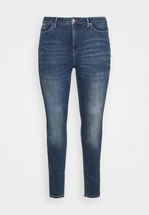VMLORA  - Jeans Skinny Fit - medium blue denim