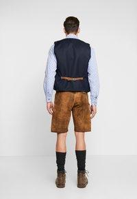 Krüger Dirndl - Kožené kalhoty - braun - 2