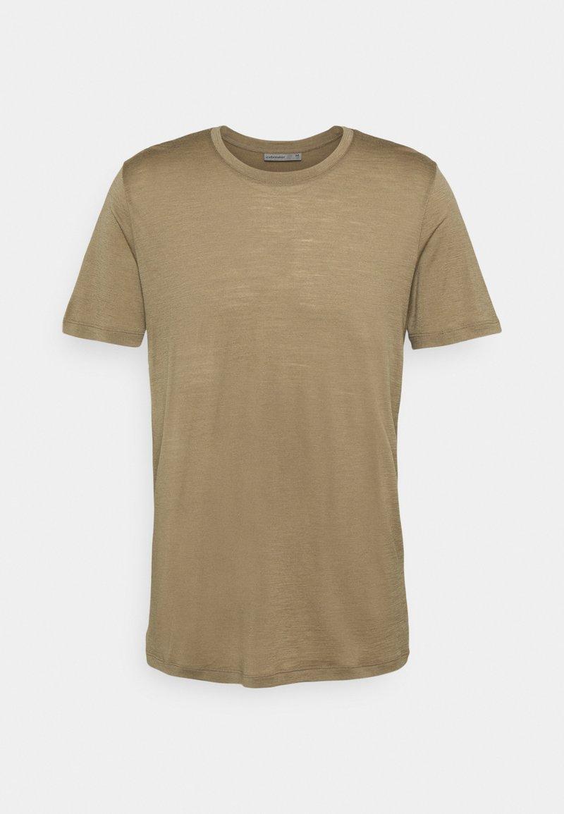 Icebreaker - TECH LITE CREWE - T-shirt - bas - flint