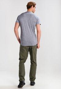 Salewa - PUEZ DRY TEE - T-shirt basic - quiet shade melange - 2