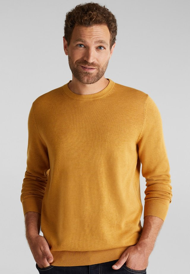 Jumper - amber yellow