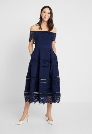 OTHELIA DRESS - Ballkjole - navy