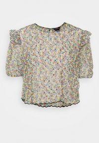 Lindex - BLOUSE AURELIA - Print T-shirt - black - 4