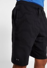 Under Armour - RIVAL SHORT PRINTED - kurze Sporthose - black - 4