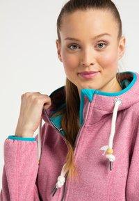 Schmuddelwedda - Outdoor jacket - pink melange - 3