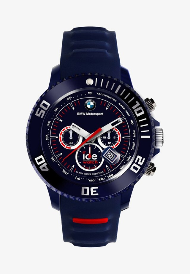 Chronograph watch - blauw