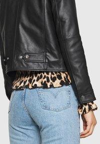Deadwood - FRANKIE - Leather jacket - black - 5