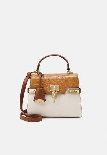 AGROLIA - Handbag - camel bone combo/gold-coloured