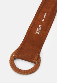 Zign - LEATHER - Belte - cognac - 2
