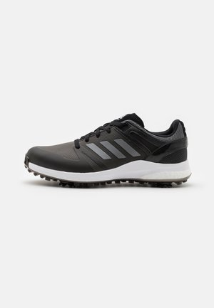 EQT - Golf shoes - core black/dark silver metallic/grey six