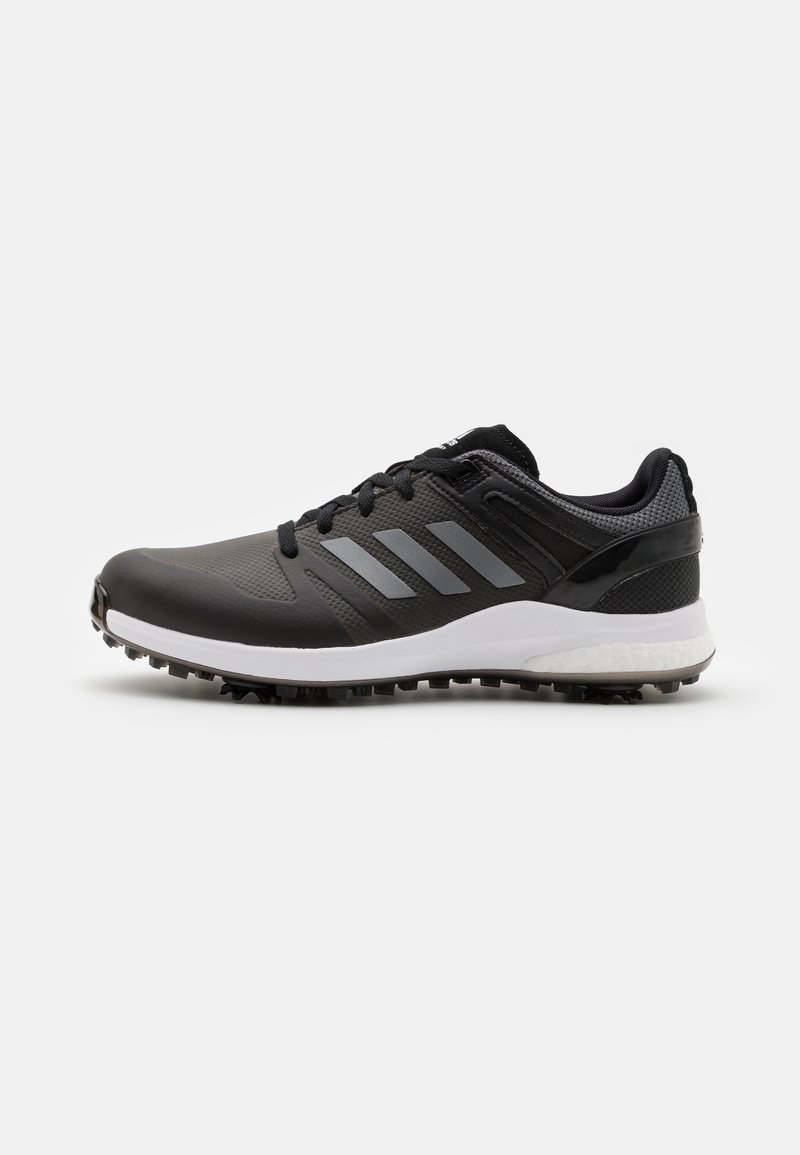 adidas Golf - EQT - Golfové boty - core black/dark silver metallic/grey six