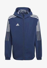 adidas Performance - GIACCA A VENTO TIRO 21 - Sports jacket - blue - 0