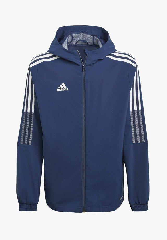 GIACCA A VENTO TIRO 21 - Sports jacket - blue