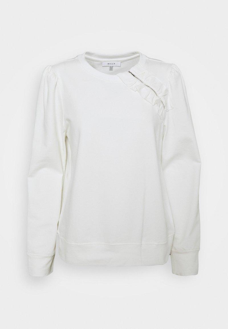 Milly - TERRY - Sweatshirt - ecru