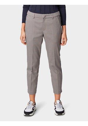CIGARETTE PANTS - Trousers - beig