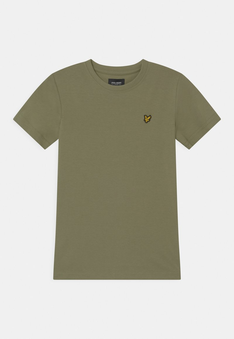 Lyle & Scott - CLASSIC  - Basic T-shirt - oil green