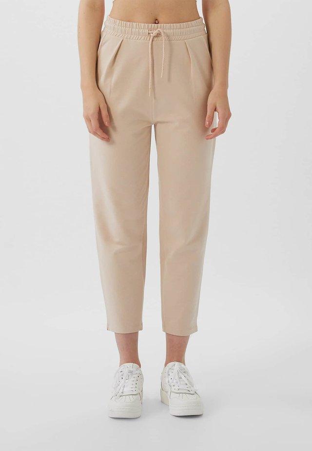 MIT KORDELZUG - Pantalon de survêtement - rose