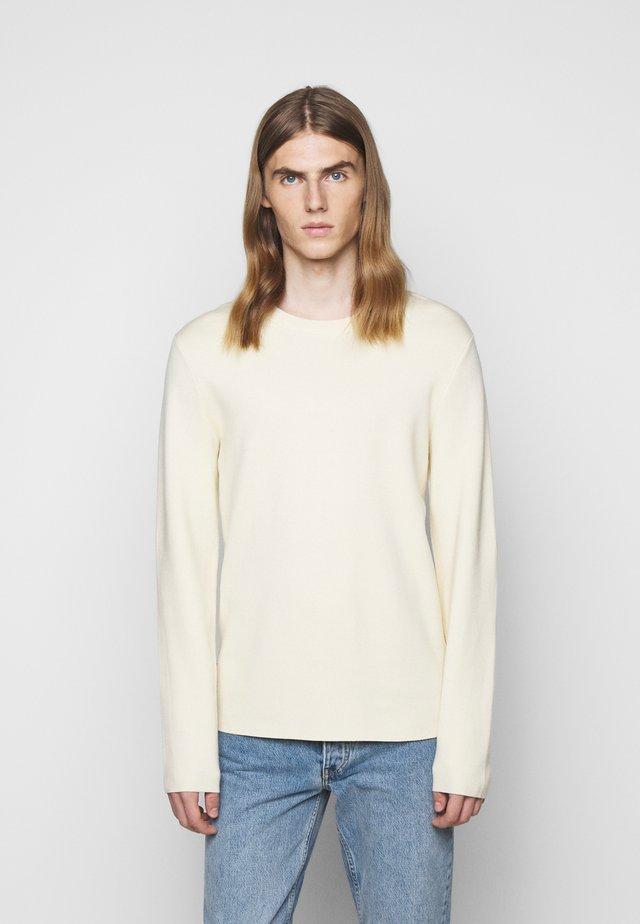 BENTON - Maglione - seedpearl white