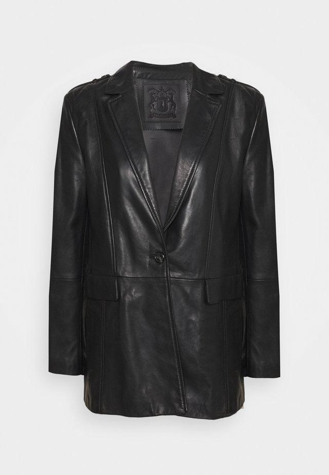 REGULAR FIT - Blazer - black