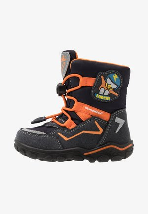 KERO SYMPATEX - Winter boots - atlantic/orange