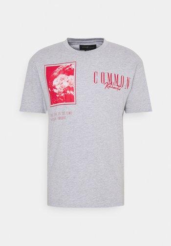 GLOBE UNISEX - T-shirt med print - grey marl