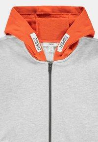 Esprit - Zip-up sweatshirt - silver - 3