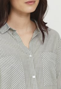 b.young - BYFIE STRIPE - Button-down blouse - olivine mix - 3