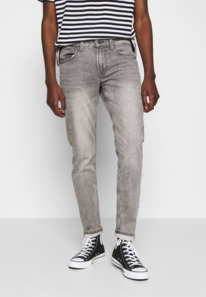 ONSLOOM ZIP  - Slim fit jeans - grey