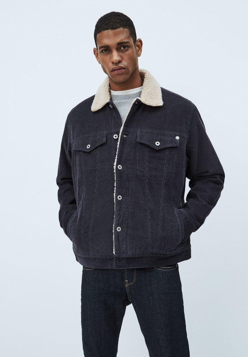 Pepe Jeans - PINNER DLX - Winterjas - deepsea blau