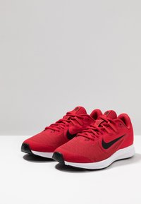 Nike Performance - DOWNSHIFTER 9 - Neutral running shoes - gym red/black/university red/white - 3
