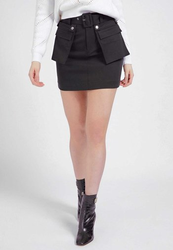 RANDI - Pencil skirt - schwarz