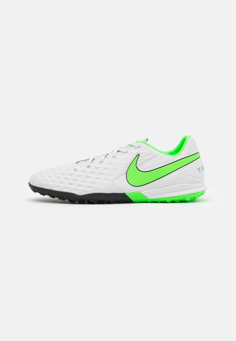 Nike Performance - TIEMPO LEGEND 8 PRO TF - Astro turf trainers - platinum tint/rage green