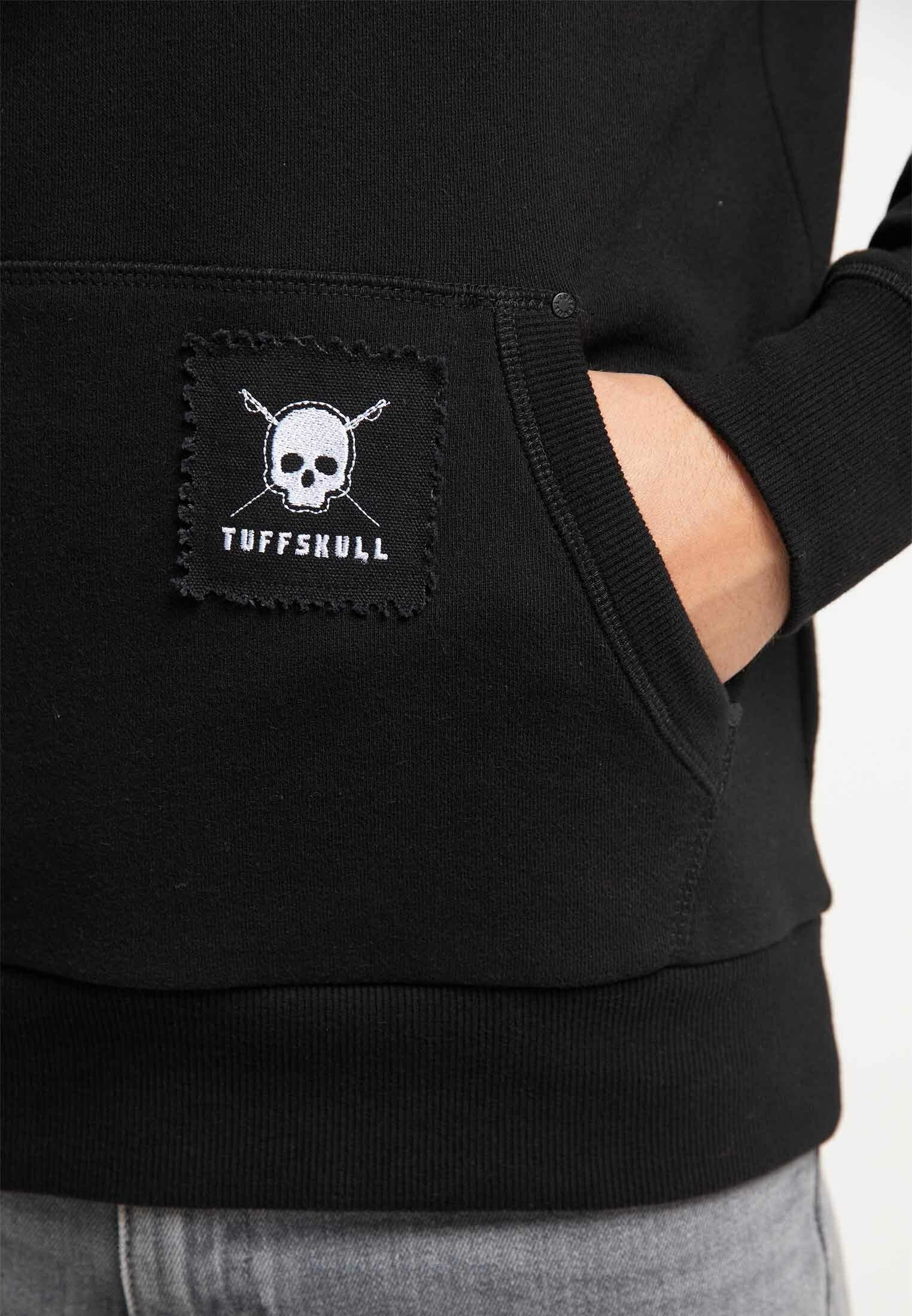 TUFFSKULL Sweat à capuche - black