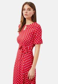 Trendyol - Day dress - red - 3